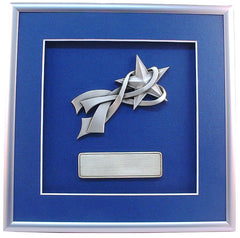 pewter award frame