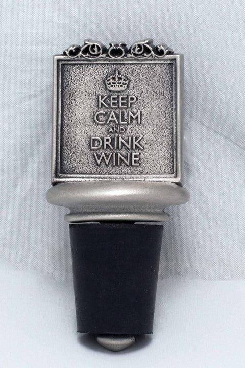 Keep Calm Wine Stopper