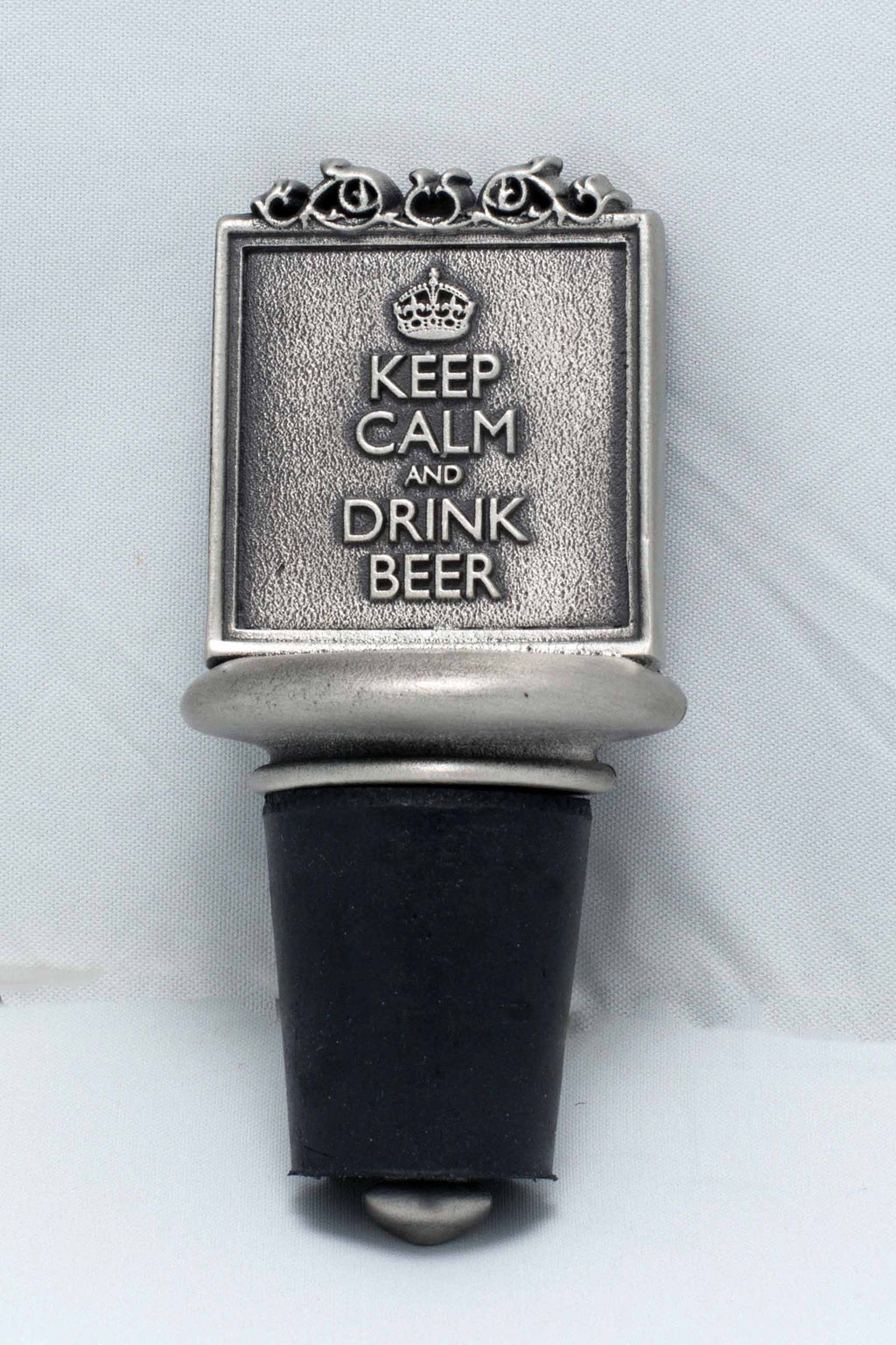 Keep Calm Beer Stopper