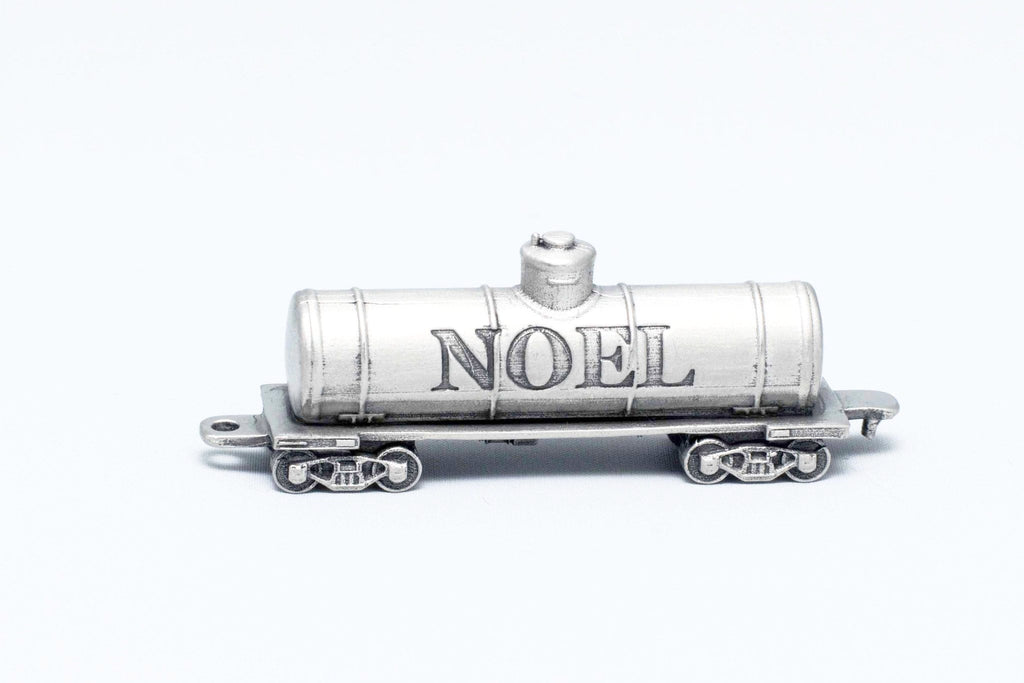 Noel Oil Tank Train Miniature