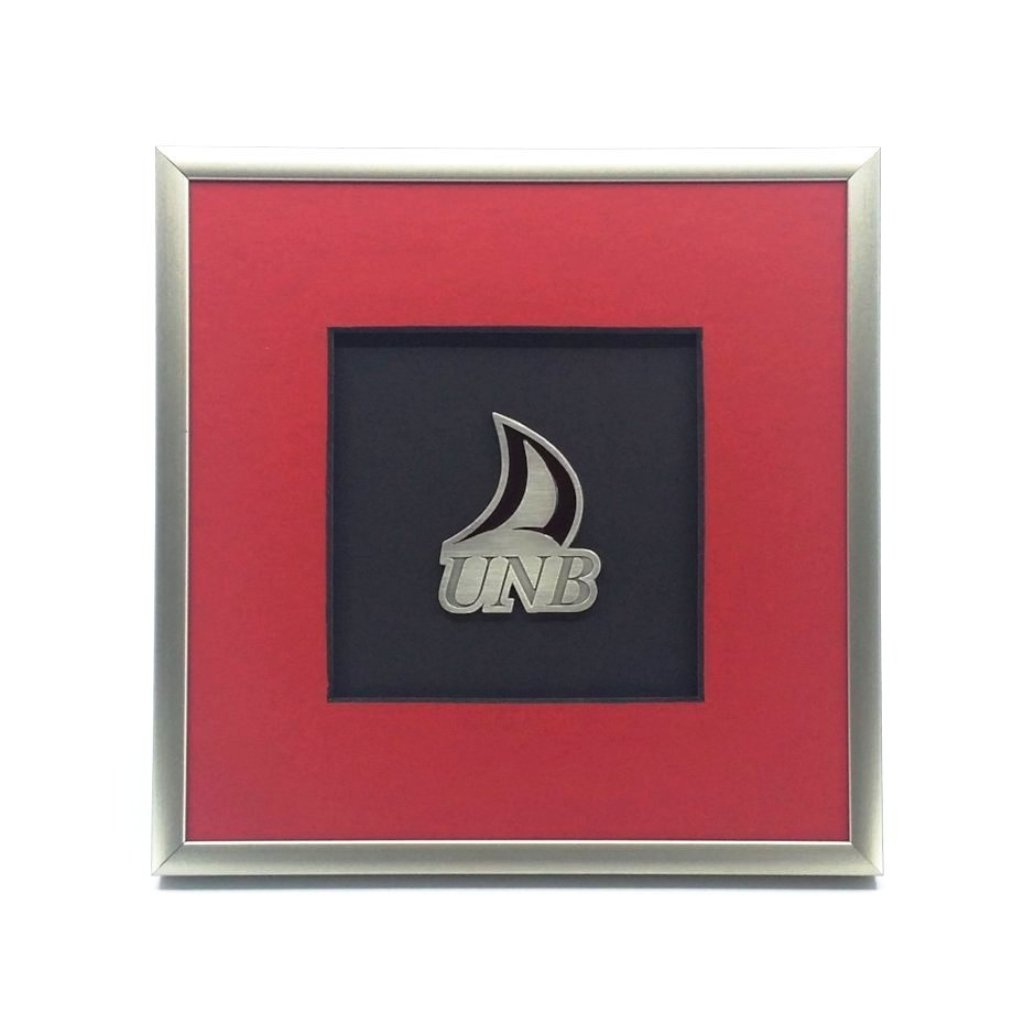 Framed UNB Logo Ornament