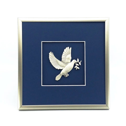 Framed Dove Crest