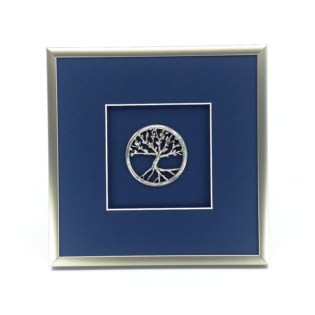 Framed Tree of Life Crest
