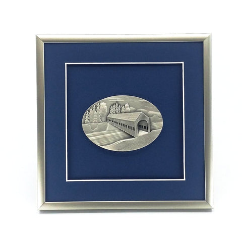 Framed Covered Bridge Crest