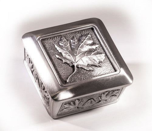 Canadiana Pewter Memory Box
