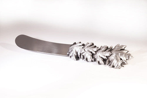Canadiana Pewter Spreader