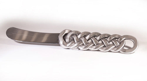 Celtic Knot Pewter Spreader Knife