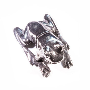 Frog PewterPlace Card Holder