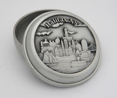 Halifax Site Specific Pewter Memory Box