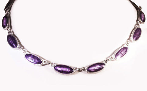 Purple Grape Inspiration Pewter Neckware