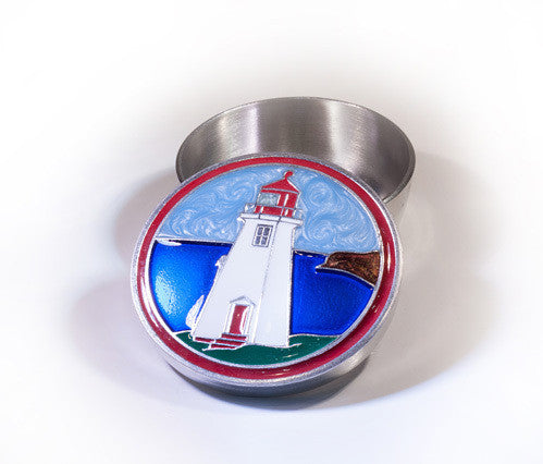 Memory Box - Lighthouse Enamelled