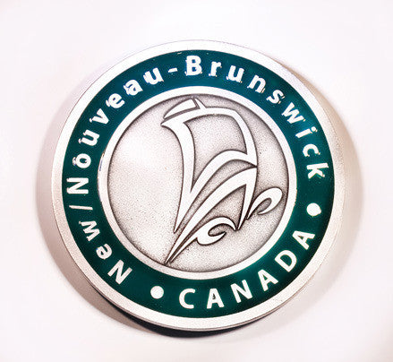 New Brunswick Galley Coaster