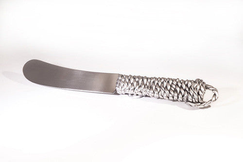 Rope & Knot Pewter Spreader Knife