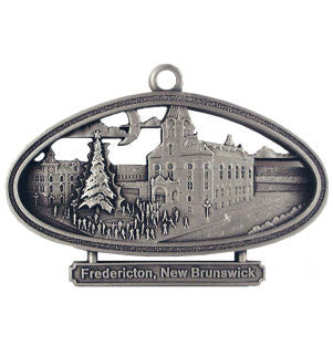 Fredericton Christmas Tree Lighting Ceremony-Ornament - Site Specific  Pewter