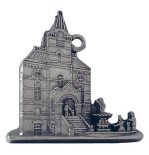 Fredericton City Hall - Ornament - Site Specific - pewter