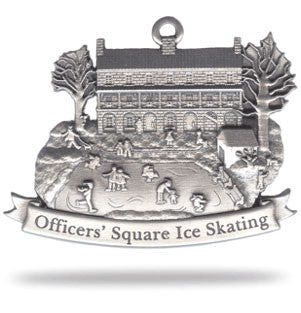 Winter Time in Officers' Square-Ornament - Site Specific