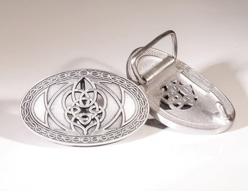 Belt Buckle - Small Celtic Knot