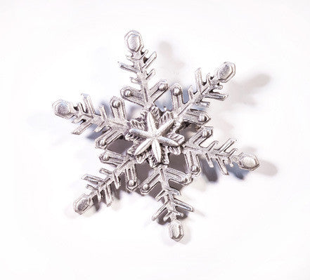 Winter Frost Pewter Brooch