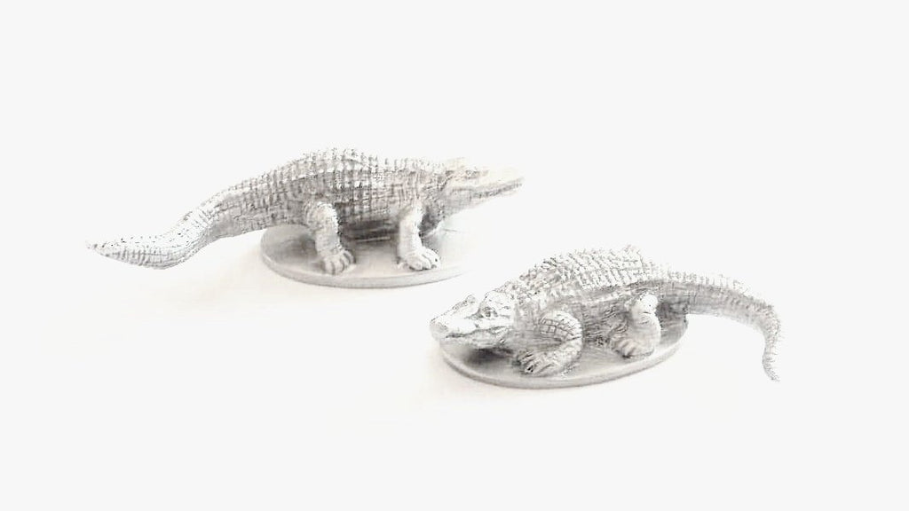 Alligator Pair Miniatures