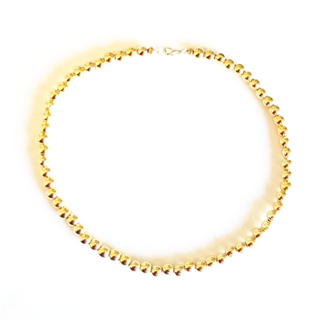 Gold Pearls Full String Neckwear