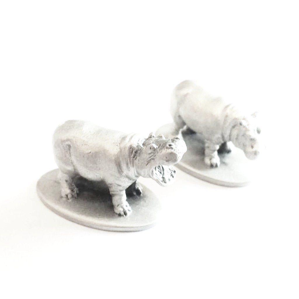 Hippo Pair Miniatures