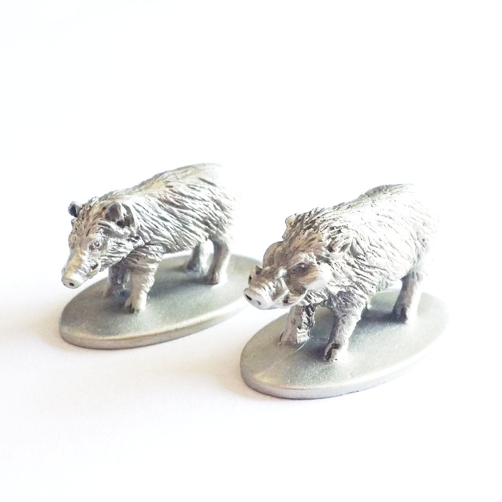 Boar Pair Miniatures