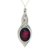red black pewter allure pendant pewter jewelry