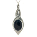 black pewter allure pendant pewter jewelry