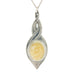 white pewter allure pendant pewter jewelry