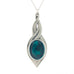 green pewter allure pendant pewter jewelry