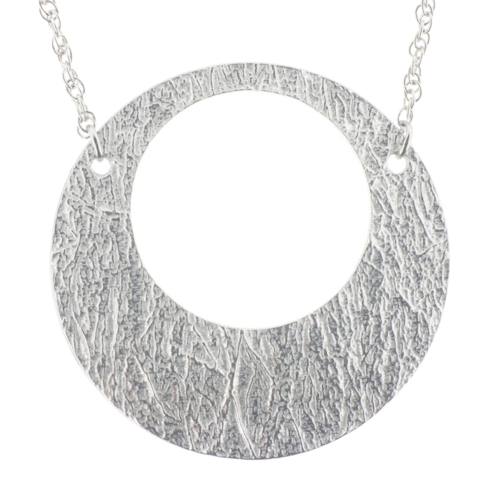 Single Arctic Hoop Pendant