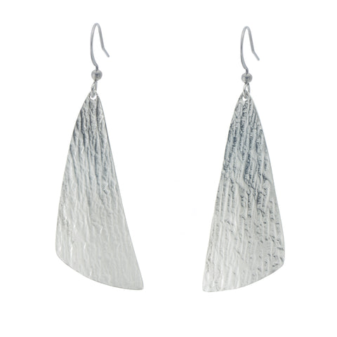 Arctic Ice Earring. Made from Pewter. Made in Fredericton NB New Brunswick Canada