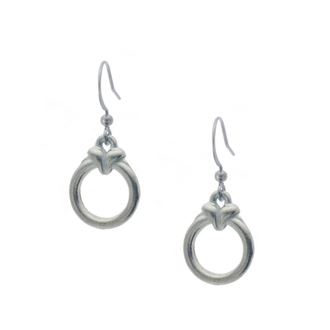Cabaret Earring. Made from Pewter. Made in Fredericton NB New Brunswick Canada