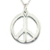 Peace Carved Pendant