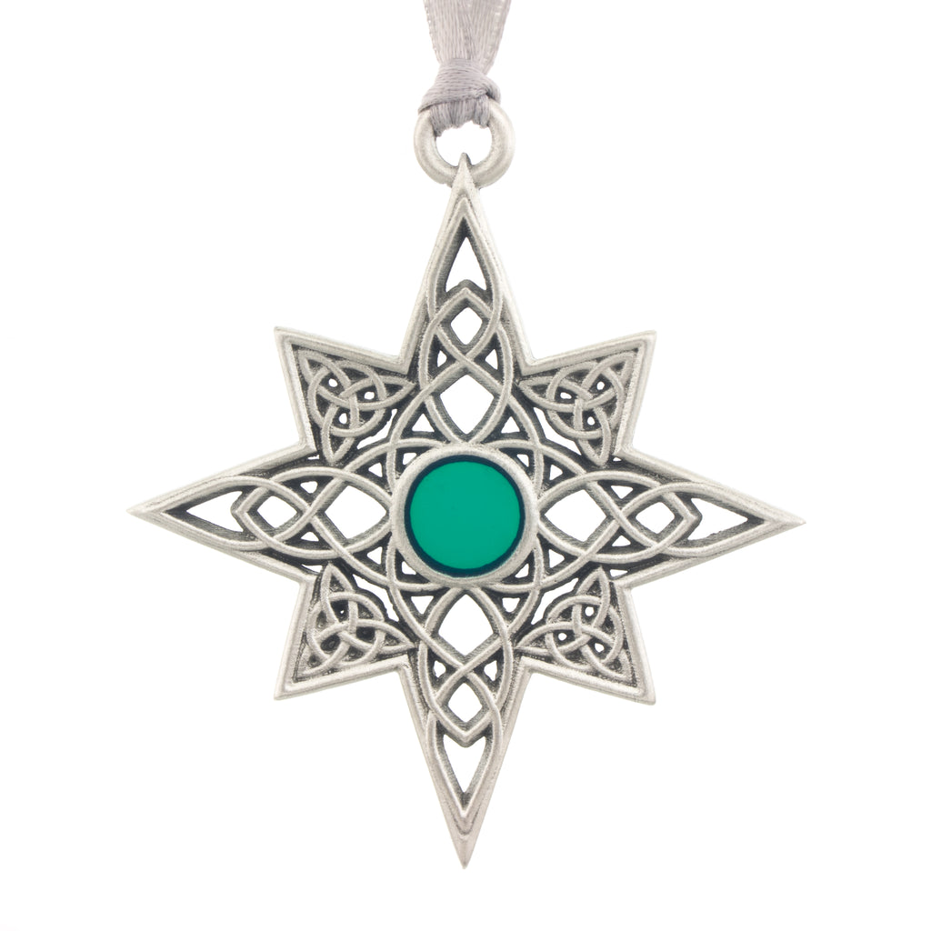 Celtic Christmas.A Celtic Christmas Ornament Aitkens Pewter