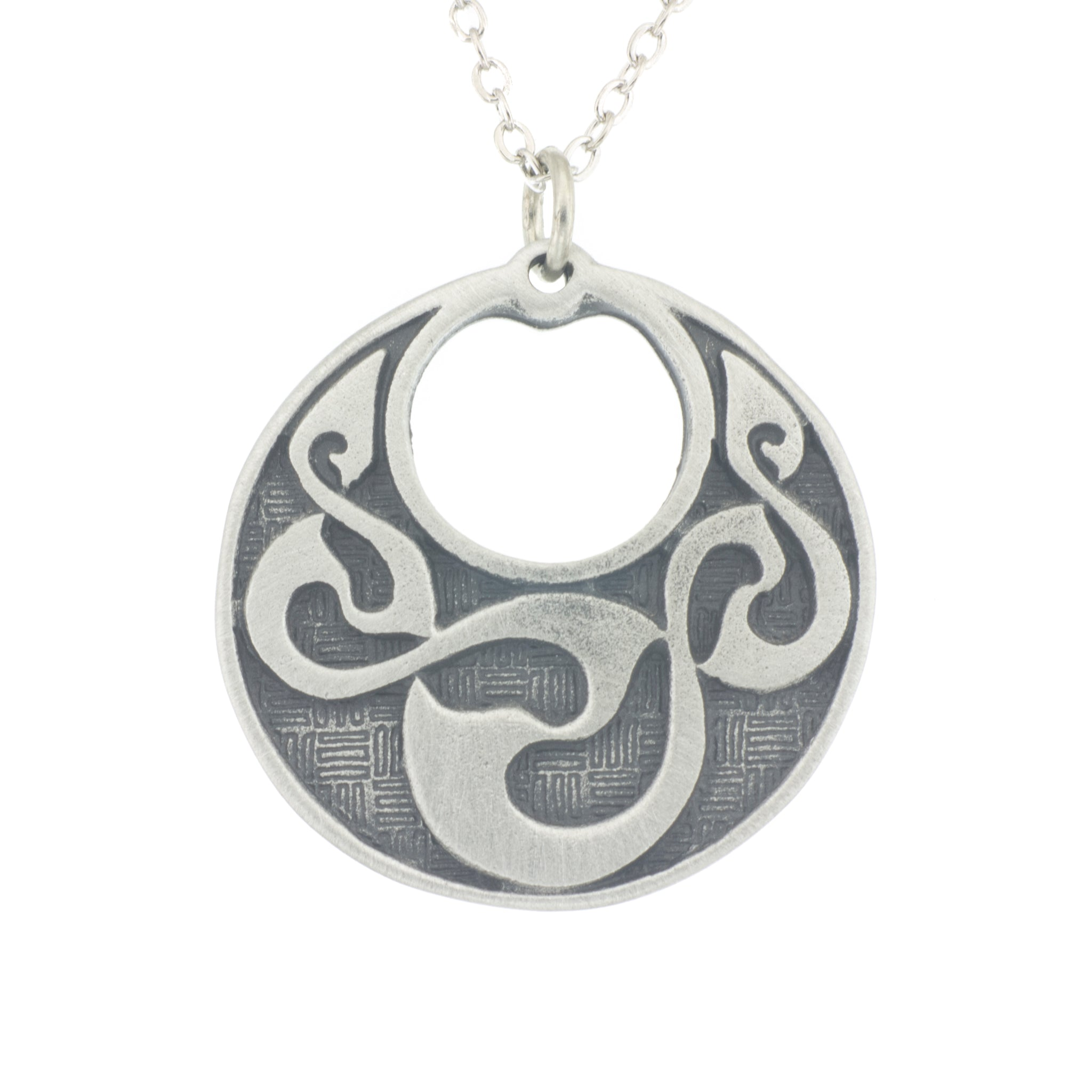 brian triple beautiful staic irish jewelry pendant this de products dainann from danainn celtic spiral features necklace the
