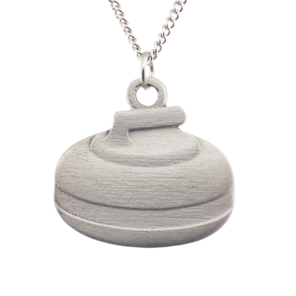 Curling Rock Pendant