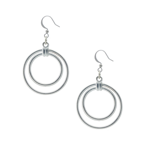 Unity Earring. Made from Pewter. Made in Fredericton NB New Brunswick Canada