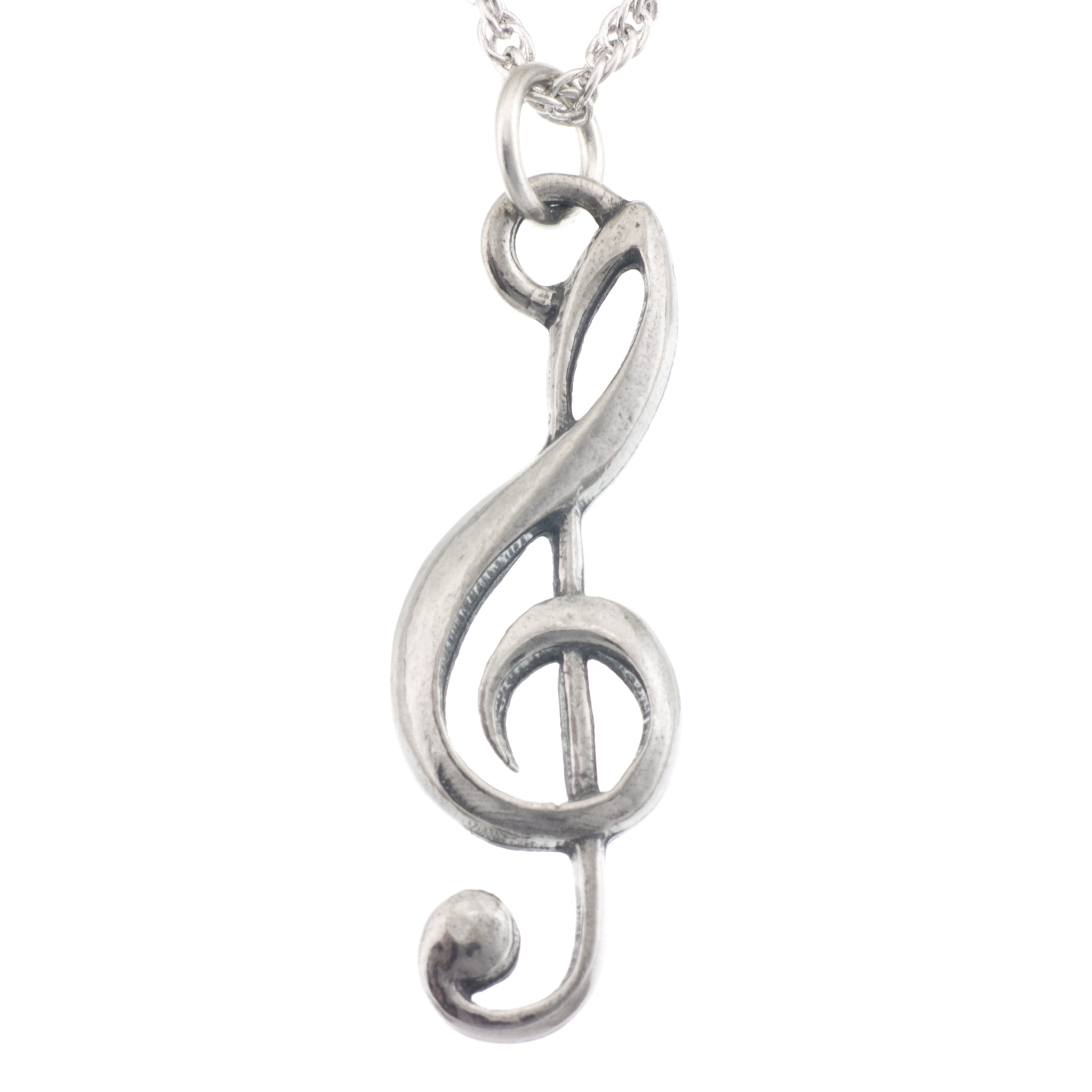 pendant drop products necklace clef f claud l rosegold model young music