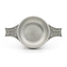 Celtic Quiche top view. Satin Finish. Made from Pewter. Made in Fredericton NB New Brunswick Canada
