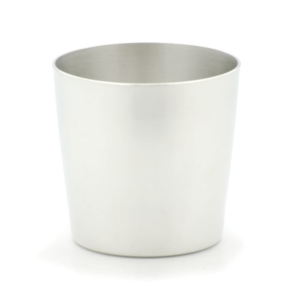 Scotch Goblet. Satin finish. Made from Pewter. Made in Fredericton NB New Brunswick Canada