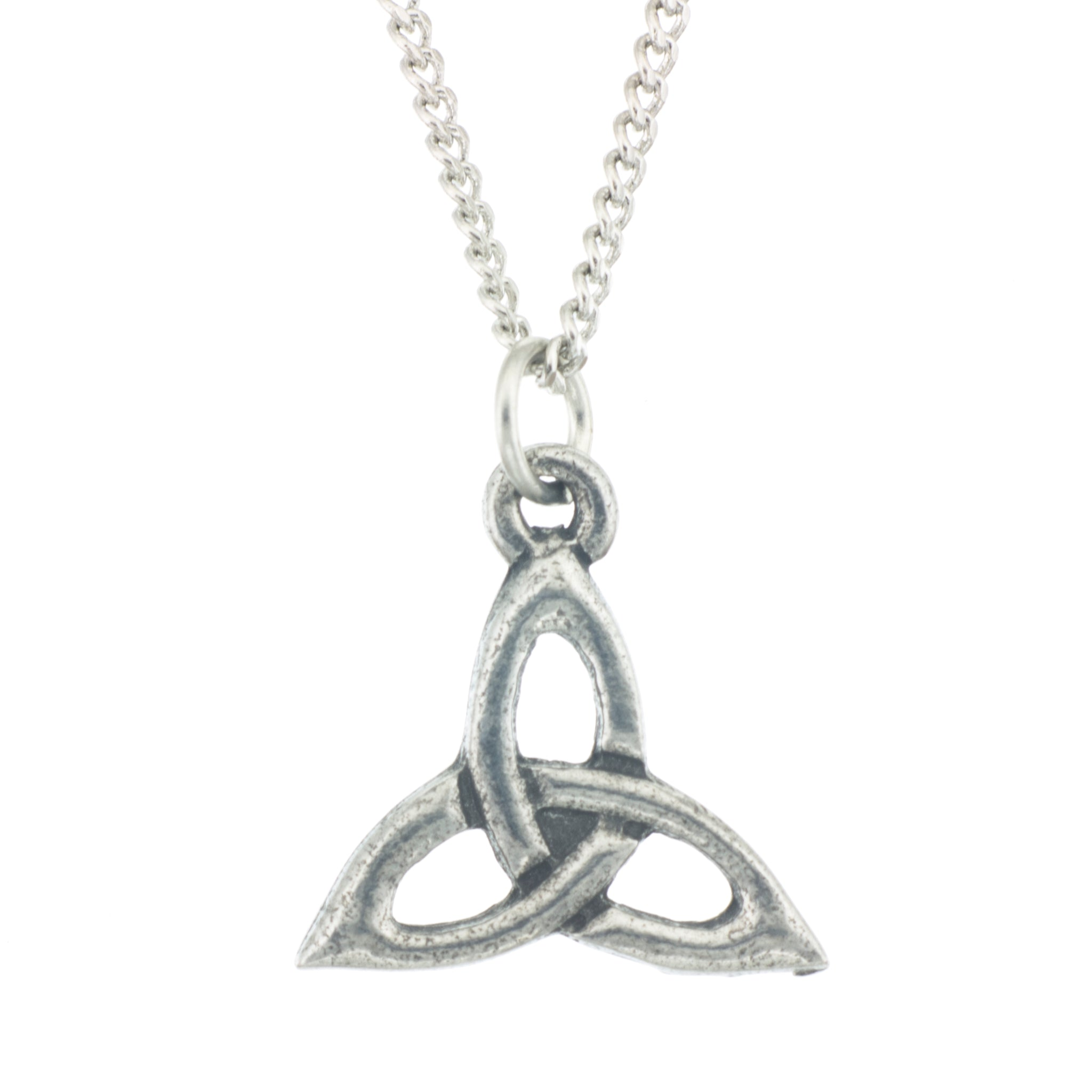 Trinity knot pendant aitkens pewter trinity pendant celtic made from pewter necklace made in fredericton nb new aloadofball Image collections