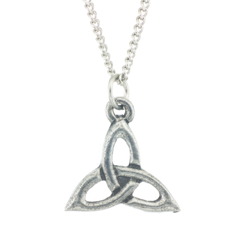 Trinity Pendant. Celtic. Made from Pewter. Necklace. Made in Fredericton NB New Brunswick Canada