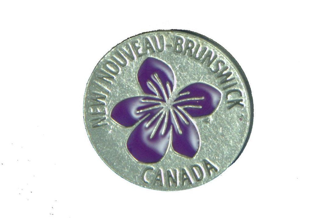 Violet New Brunswick Pin - PNB