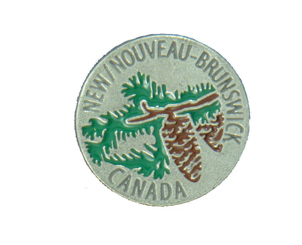 Spruce Fir New Brunswick Pin - PNB