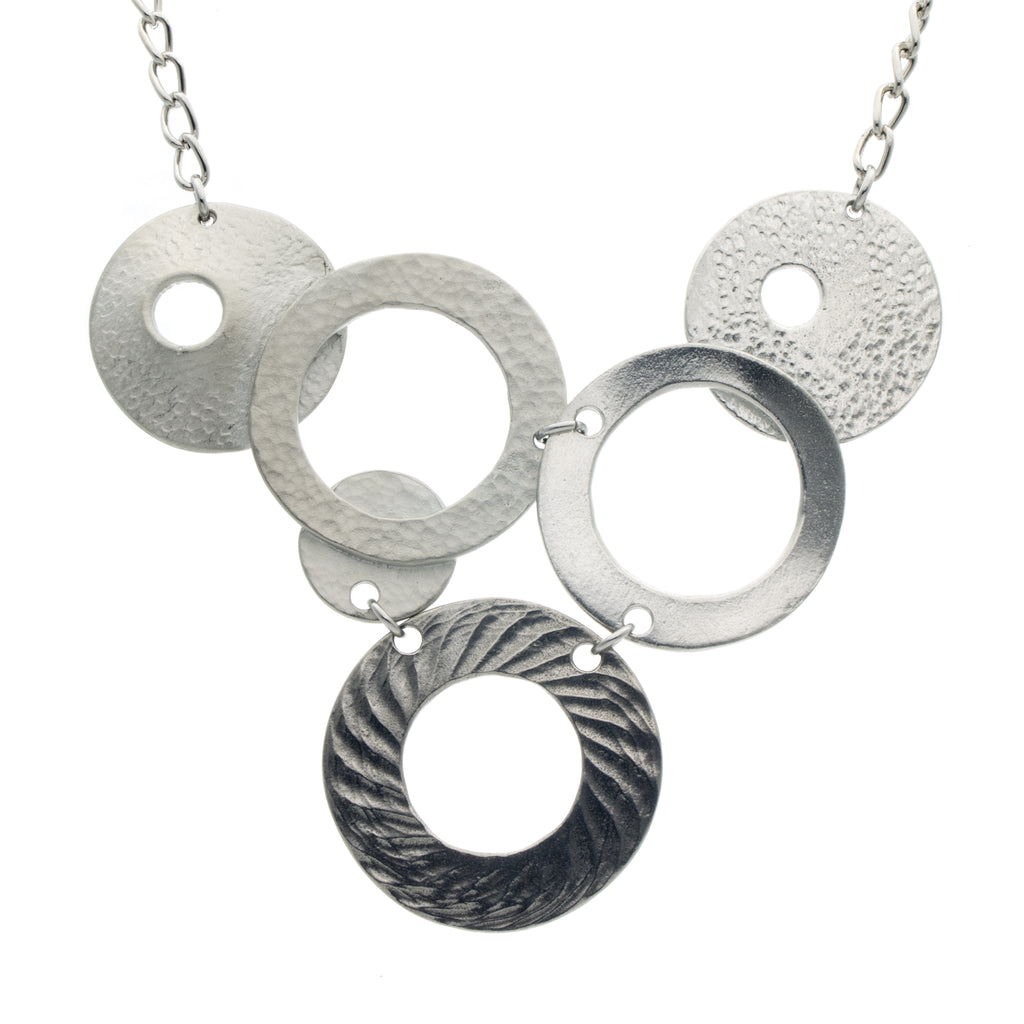 Medium Venus Neckwear. Chain. Made from Pewter. Made in Fredericton NB New Brunswick Canada