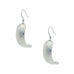 Vogue Earring. Polish finish. Made from Pewter. Made in Fredericton NB New Brunswick Canada