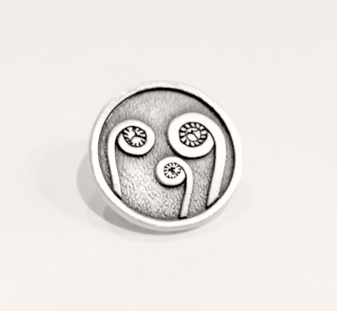 Fiddlehead Lapel Pin