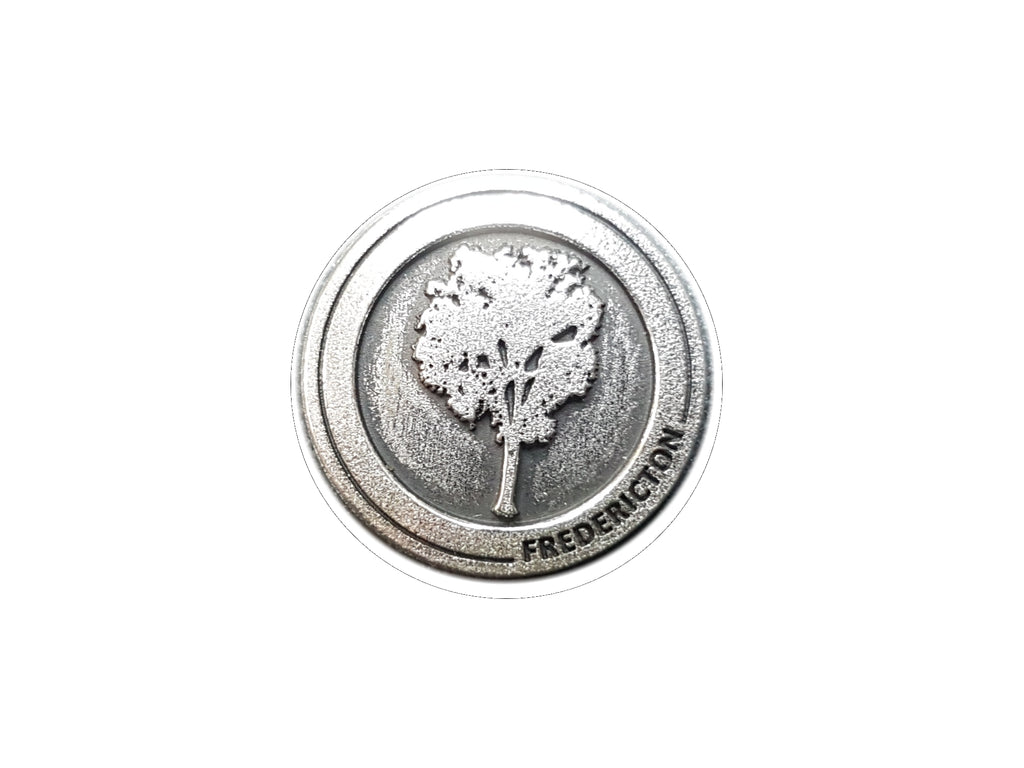 Fredericton Elm Tree Lapel Pin