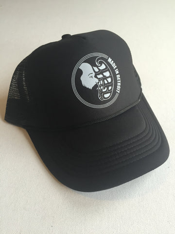 Trucker Cap - Black & White